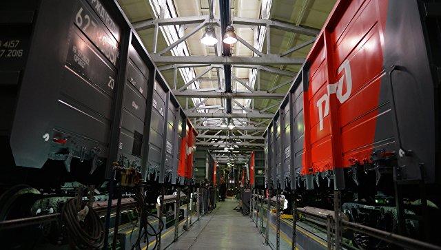 Железнодорожные вагоны в одном из цехов Уралвагонзавода в Нижнем Тагиле. Архивное фото.