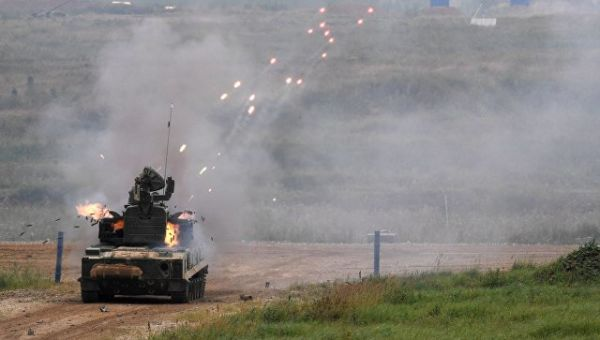 ЗПРК 2С6М1 Тунгуска