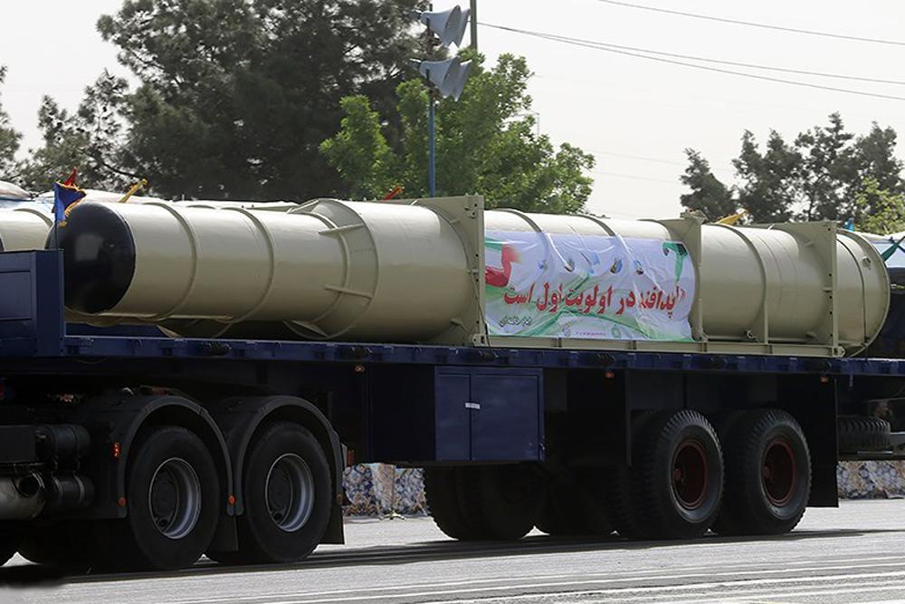 Разработанная в Иране зенитная ракетная система Bavar 373.