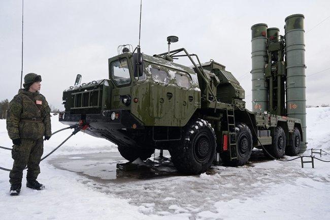 ЗРК С-400.