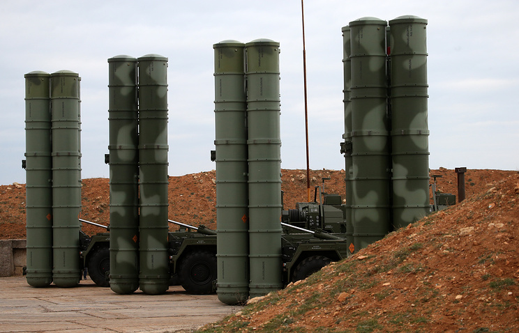 "ЗРС С-400 ""Триумф""."