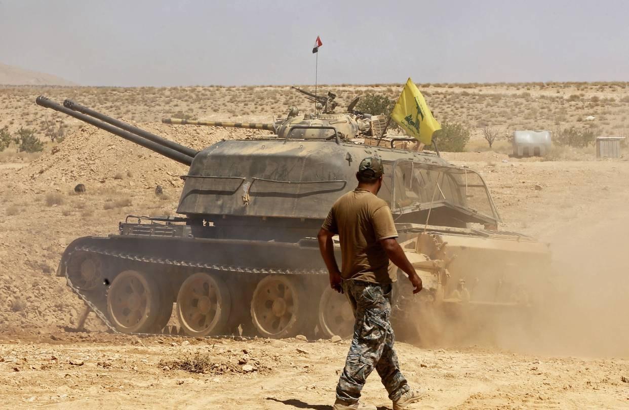 Артиллерийская установка ЗСУ-57-2 снова засветилась в Сирии.