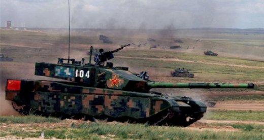 Китайский танк ZTZ-99A2.