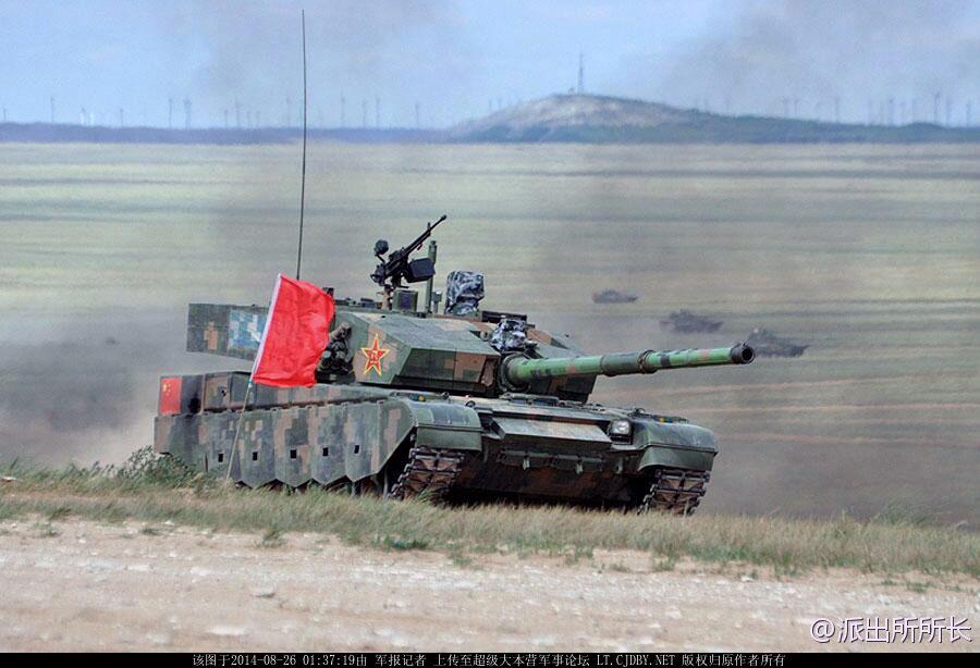 Китайский основной боевой танк Тип 99 (ZTZ99/ZTZ99A/ZTZ99B.