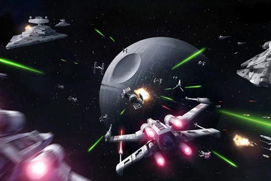 """""""Звезду смерти"""" в Пентагоне придумали задолго до Джорджа Лукаса, но именно сейчас звездные войны перестают быть фантастикой."""