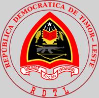 АК-47 на гербе Восточного Тимора